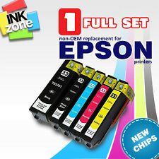 Full Set of non-OEM Ink Cartridges for Epson Expression PREMIUM XP-630 XP-635