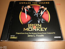 IRON MONKEY soundtrack CD gnp cresendo JAMES L VENABLE score OST donnie yen