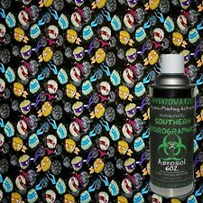 HYDROGRAPHIC FILM WATER TRANSFER HYDRO DIP 6OZ ACTIVATOR NINJA TURTLE KIT