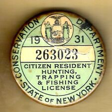 Fishing badge ebay for New york fishing license online