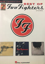 """""""The Best Of The Foo Fighters""""   guitar tab signature licks with CD"""