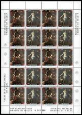 SMOM - 2005 - Anno dell'Eucarestia - fogiio di 20