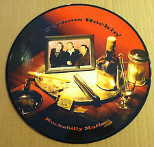 ROCKABILLY MAFIA Serious Rockin PICTURE DISC LIMITED 10 Inch VINYL USA seller