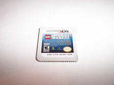 Lego Star Wars III The Clone Wars (Nintendo 3DS) XL 2DS Game