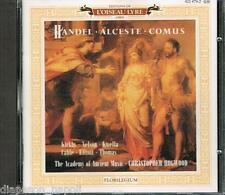 Handel: Alceste, Comus / Christopher Hogwood, Kirkby - CD