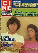 CINE REVUE 1984 N°30 giraudeau kaprisky J.O. bourvil lahaye gary cooper d. doll