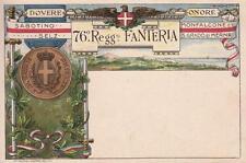 8044) WW1, MESSINA, 76 REGGIMENTO FANTERIA BRIGATA NAPOLI.