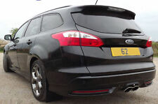 Rallyflapz 4 mm PVC gardes-boue Ford Focus MK3 ST250 Estate (2012 ON) noir