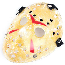 Freday Friday The 13th Halloween Myers Costume Prop Horror Hockey Mask