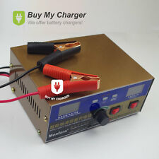 12V/24V 200ah Car Scooter E-bike Lead acid&Lithium Battery Charger Pulse Repair