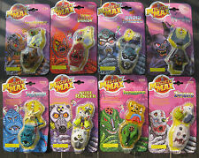 MIGHTY MAX Toy HORROR HEADS COMPLETE SET 8 PCS lot NEW BLUEBIRD MATTEL IDEAL