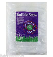 Artificial snow 'Cotton wool' type fibre winter and Christmas display 450g bag