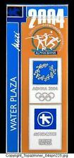 OLYMPIC PINS 2004 ATHENS GREECE WATER PLAZA VENUE