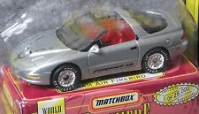 Matchbox Premiere Collection silver Pontiac Ram Air Firebird World Class Series
