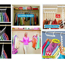 MULTI FUTION 3X Space Saving Wonder Magic Hanger Clothes Closet Organize Hook BL