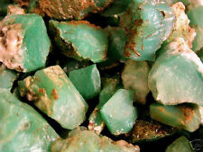 Chrysoprase mine rough Australia 1 ounce lots