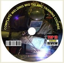 COMPELETE MIG TIG ARC WELDING TRAINING GUIDES & COURSE