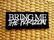 NEW Bring Me The Horizon Sew Iron On Patch Embroidered Heavy Metal Rock Band