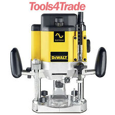 DeWalt DW625EK Plunge Router 2000W - 240V in Case
