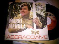 """7"""" MARIO MEROLA ABBRACCIAME MARE MARE.. FESTIVAL NAPOLI COVER N/MINT VINILE VG"""