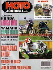 MOTO JOURNAL 1036 HONDA Africa Twin YAMAHA 750 XTZ Super Ténéré KAWASAKI ZXR 750