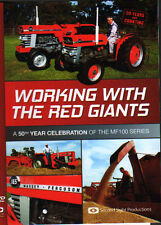 Massey Ferguson 100 Series Tractor DVD: WORKING WITH THE RED GIANTS