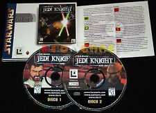 STAR WARS JEDI KNIGHT DARK FORCES II 2 Pc Collezione CTO Italiano ••••• COMPLETO