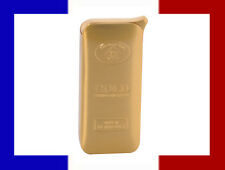 BRIQUET A GAZ RECHARGEABLE IMMITATION LINGOT D'OR