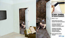 ZOMBIE 2 HALLOWEEN DECORATION LARGE INTERIOR FABRIC DOOR BANNER DECORATION