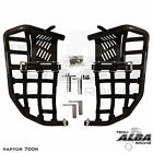 Yamaha Raptor 660 Nerf Bars Pro Peg Heel Gaurds Alba Racing Black/Black