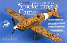 Mike Grant Decals 1/48 ITALIAN SMOKE RING CAMOUFLAGE for MACCHI FIGHTERS