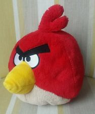 "Angry Birds Cardinal Plush Soft Toy 8"" Big Red Bird"