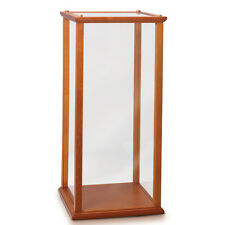 Wood and Glass Display Case for Collectibles and Dolls Bradford Exchange