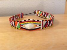African-Arena Handmade Maasai Masai Beaded Tribal Choker Jewelry Necklace AA817