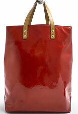 Louis Vuitton READE MM VERNIS Bag Tasche TIMELESS Zeitlos ROT RED ROUGE Rare