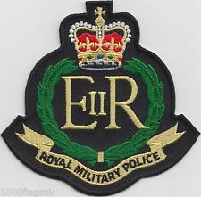 British Army - The Royal Military Police RMP - Embroidered Patch Badge
