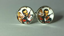 James Bond 007, From Russia with Love, Glass domed cufflinks