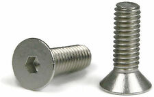 "Flat Head Socket Cap Screw 18-8 Stainless Steel 5/16-18 x 1"" Qty 100"