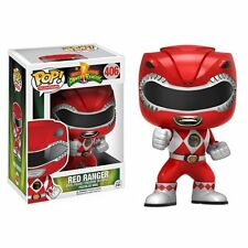 "POP Mighty Morphin ""POWER Rangers Red Ranger Figura in Vinile Funko #406"