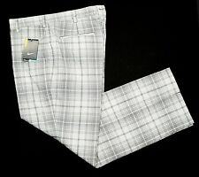 NWT Nike Golf Tour Performance Dri Fit Stay Cool Tartan Plaid Pants- 35x32, $85+