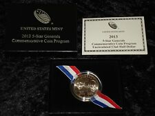 2013 5-Star Generals Commemorative Coin Program Uncirculated Clad Half-Dollar