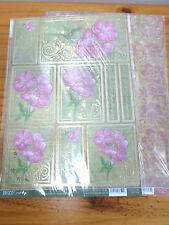 Craftstyle- 2 Sheet Pack-Gold Foiled/Die-Cut- Toppers/Sentiments- Morning Glory