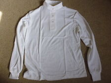 Racesafe ladies white long sleeve thermal stock show hunt shirt size UK 16 38""