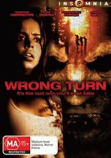 Wrong Turn = NEW DVD R4