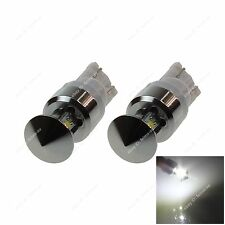 Pair T10 W5W 4 Cree Car LED Side Signal Light Reading Bulb White 20369 Newest