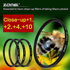 Zomei 58mm Macro Close Up +1+2+4+10 Lens Filter Kit For Canon Nikon Sony Fuji UK