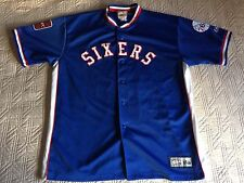 Shooting top warm-up veste philadelphia 76ers nba sixers hardwood majestic xxl