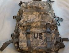 USED Military Issue Molle II Acu Camo 3 Day Assault Pack Backpack W/Stiffener