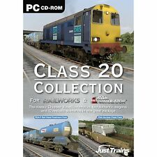 Class 20 Collection: Add on for Rail Simulator, Railworks & Railworks 2 (PC) NEW