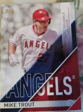 2017 Topps Series 1 Baseball Mike Trout Most Valuable Player Card 1